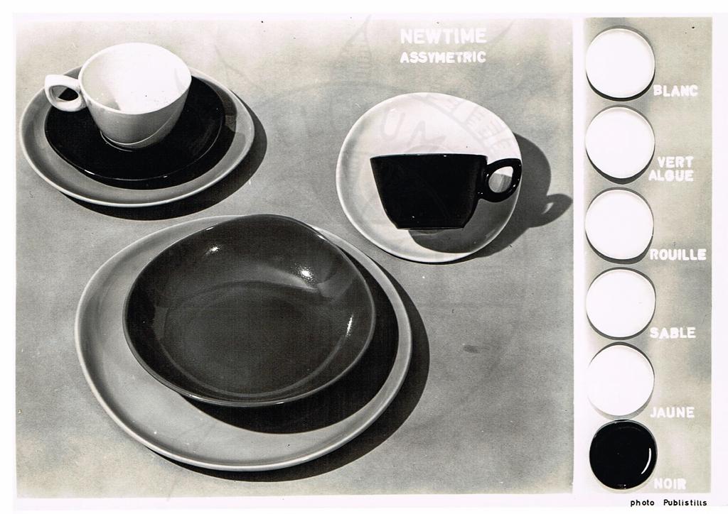1955 {Newtime} *Assymetric Uni* - World of Boch Fréres & Boch Keralux - Website voor verzamelaars
